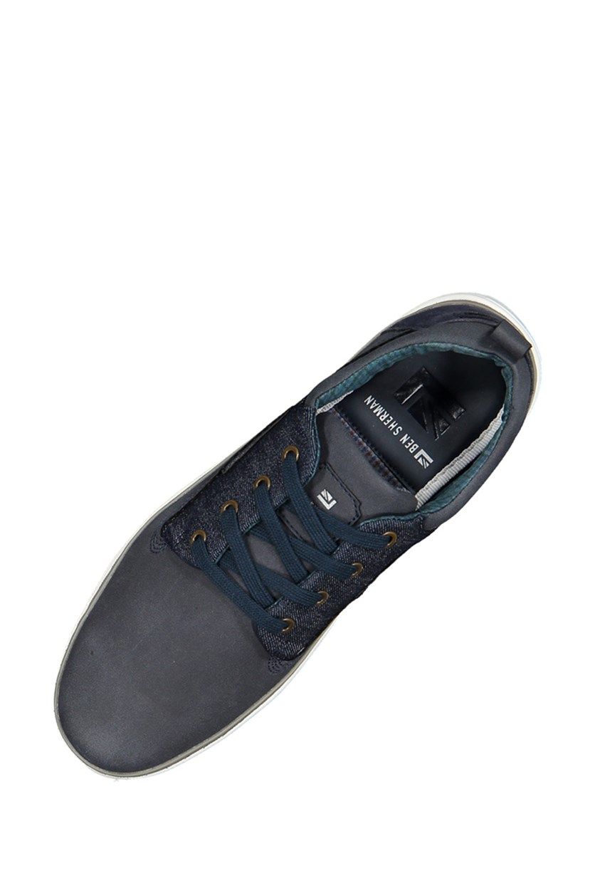 Bens Bull Dog Oxford Sneakers, Navy Combo