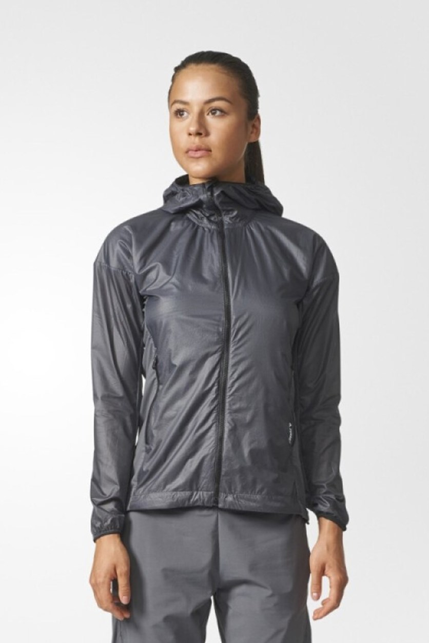 Women's Terrex Ho Ashiel Jacket, Charcoal