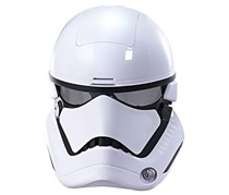 Star Wars The Last Jedi First Order Stormtrooper Electronic Mask, White