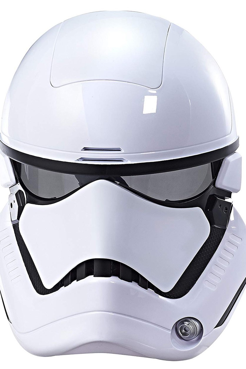 The Last Jedi First Order Stormtrooper Electronic Mask, White