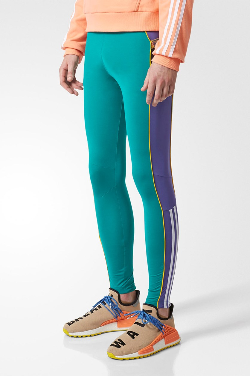 Men's Pharell Williams HU Hikings Leggings, Equator Green