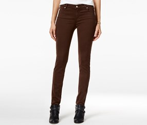 Celebrity Pink Juniors Skinny Jeans, Coffee Bean