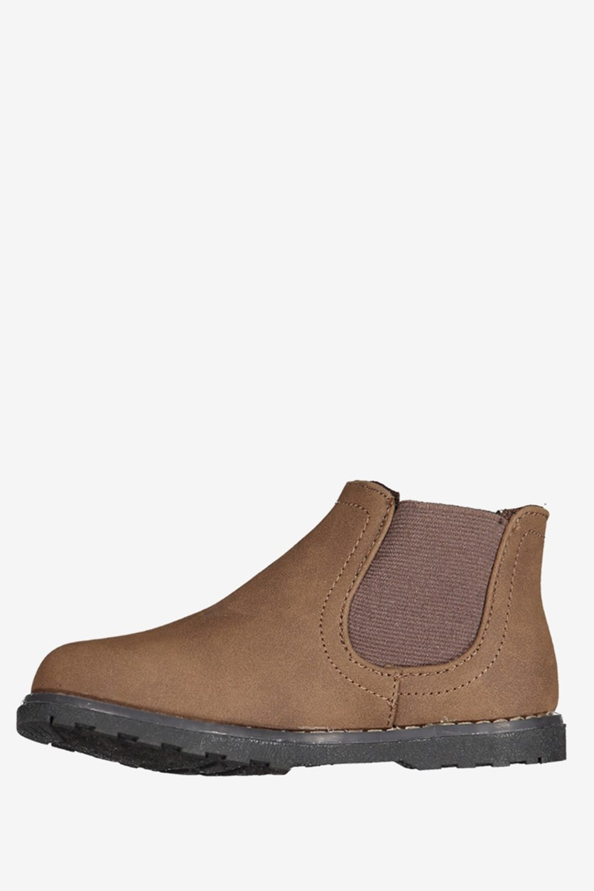 Little Girls Tozi Boots, Tan