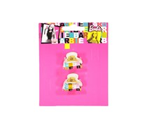 Mattel By Barbie 2 Claw Clips, Yellow Combo