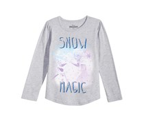 Disney Frozen Snow Magic T-Shirt, Grey