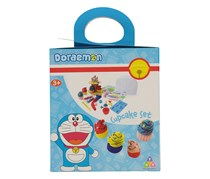 Toy Triangle Doraemon Cupcake Set, Blue