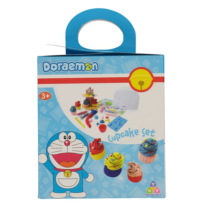 Doraemon Cupcake Set, Blue