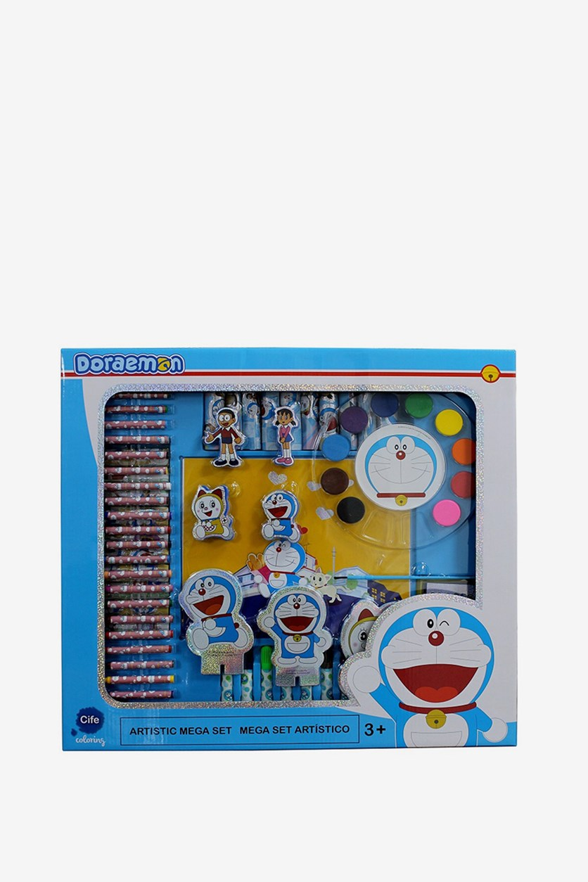 Doreamon Artistic Mega Set, Blue/White