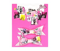 Barbie 2 Pony Bow Holders, Pink