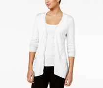 G.h. Bass & Co. Women's Pocketed Cardigan, White