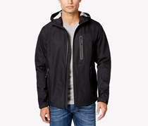 Hawke Co. Outfitter Waterproof Hipster Hooded Jacket, Black