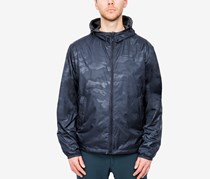 Hawke & Co. Outfitter Men's Reversible Hooded Jacket, Navy
