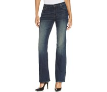 DKNY Jeans Women's Low-Rise Jeans, Navy