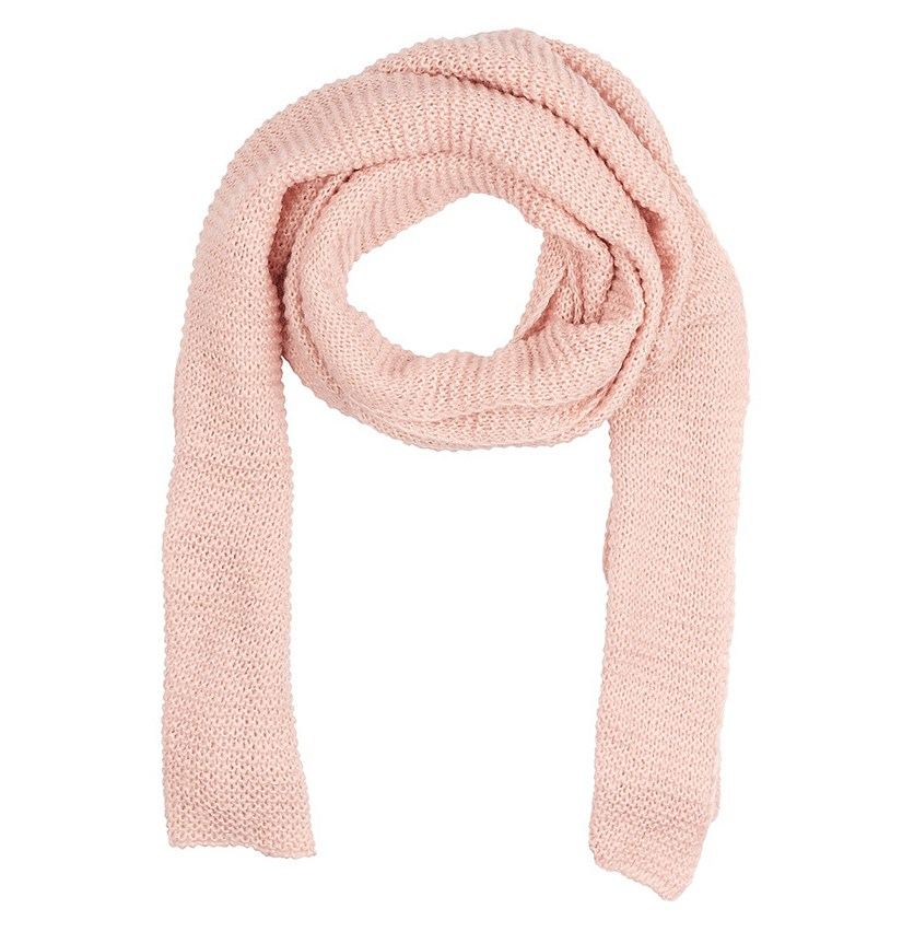 Women's Textured Scarf, Pink