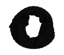House Women's Braided Scarf,  Black