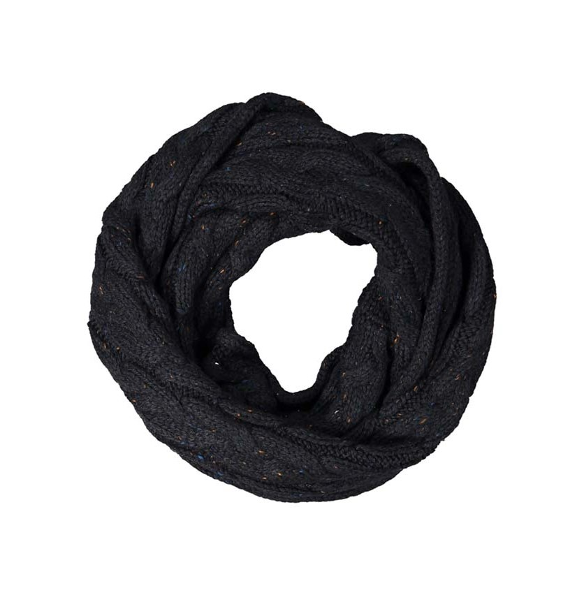Men's Textured Braided Scarf, Navy Combo