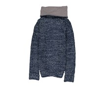 House Women's Knitted Sweater, Blue