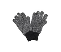 House Men's Space Dye Gloves, Black Combo