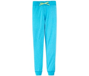 Layer 8 Girls' French Terry Pants, Blue