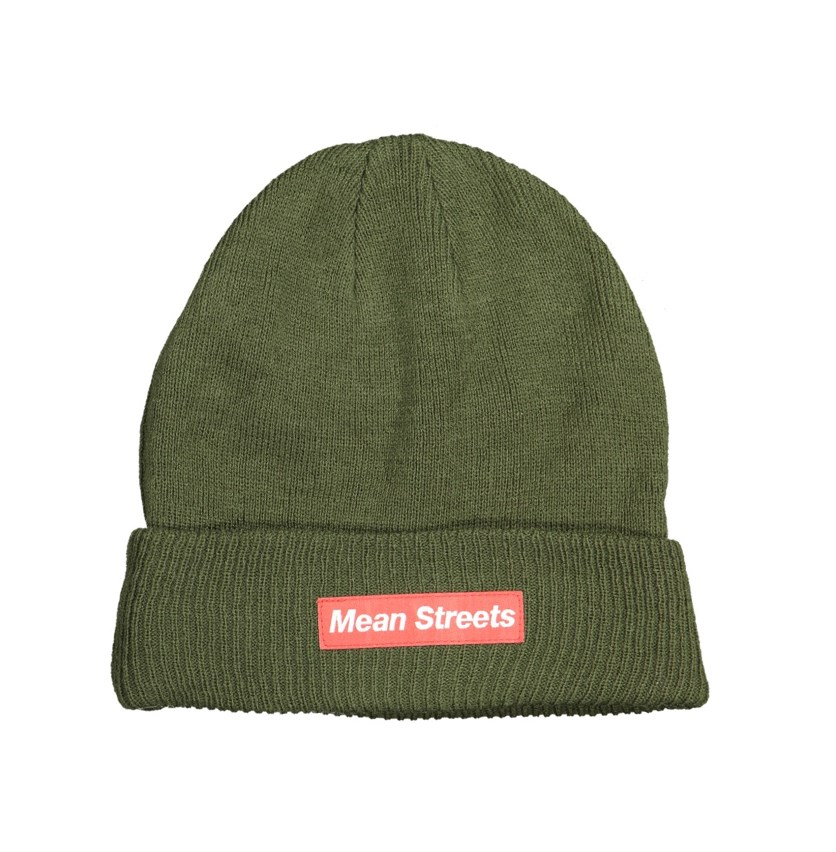 Men's Mean Stress Hat, Olive