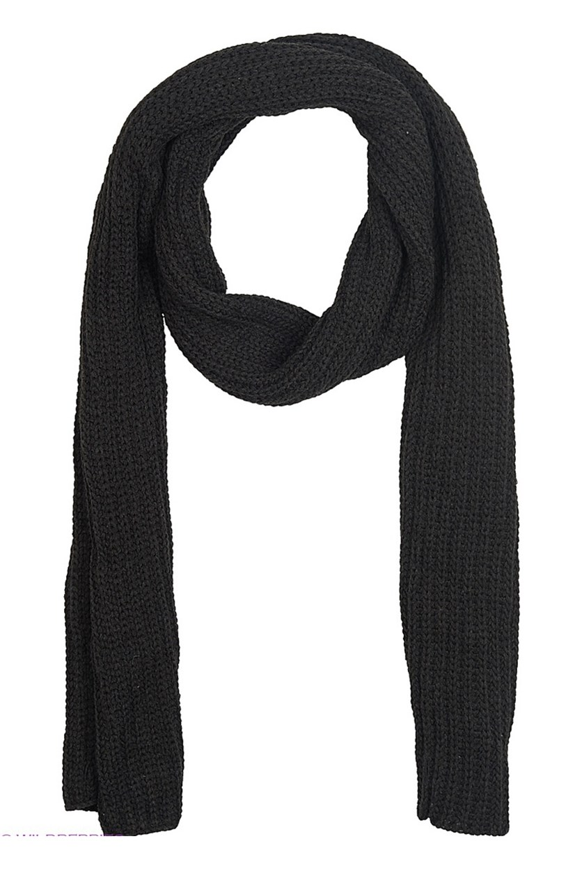 Men's Scarf, Dark Grey