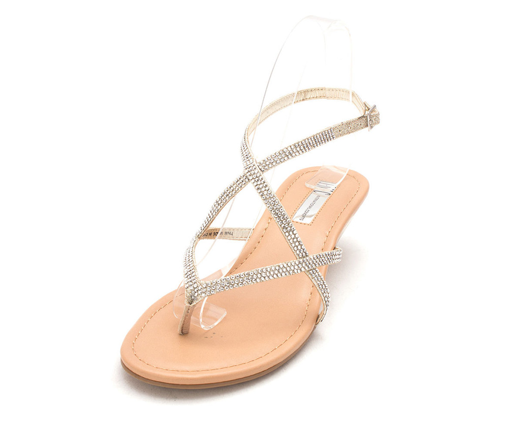 INC Womens Mayca2 Casual Ankle Strap Sandal, Tan