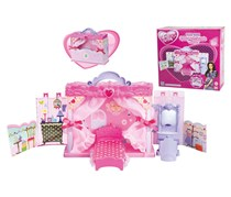 New Boy Fulla Play Time Fantasy Princess Room Pretend Play Toy, Pink