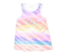 Girls Sublimated Beach Tank, White Combo