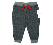 Sovereign Code Little Kids Infant Terry Sweat Pants,  Navy/Red