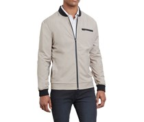Kenneth Cole Reaction Men's Tech Bomber Jacket, Timber Wolf