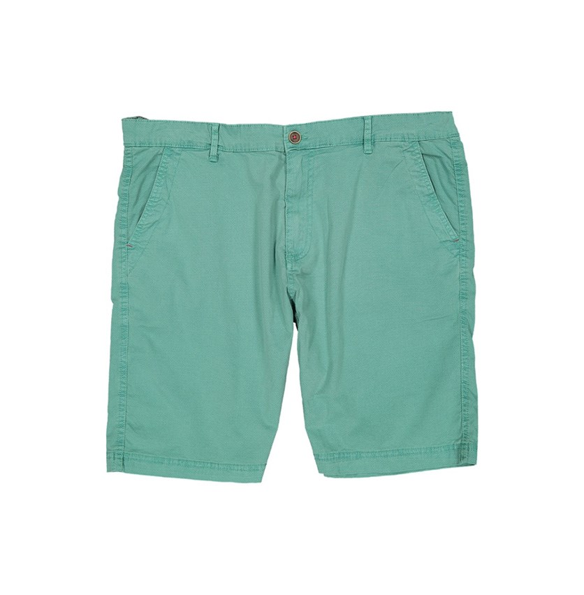 Vintage Cotton Flat Front Short, Sea Green