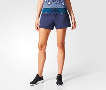 Adidas Women's Essential Knit Shorts, Noble Ink