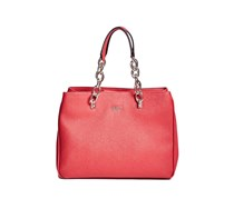 Guess Women's Scenic Satchel, Red