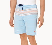 Tommy Bahama Men's Baja Serape Sunset Board Shorts, Blue Aster