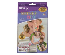 Toy Triangle Shine Girls SG-TRIBAL Tattoo Pack, Red/Blue/Green