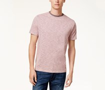 Vince Camuto  Men's Ringer T-Shirt, Heather Rose