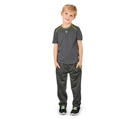 Boys Performance Sports Shirt, Grey
