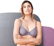 Women's Underwired Bra, Purple