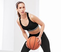 Sports-Bra, Extra Strong, Black