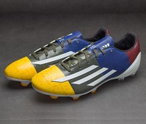 Adidas F10 Messi - Footwear, Blue/Yellow/Grey/White