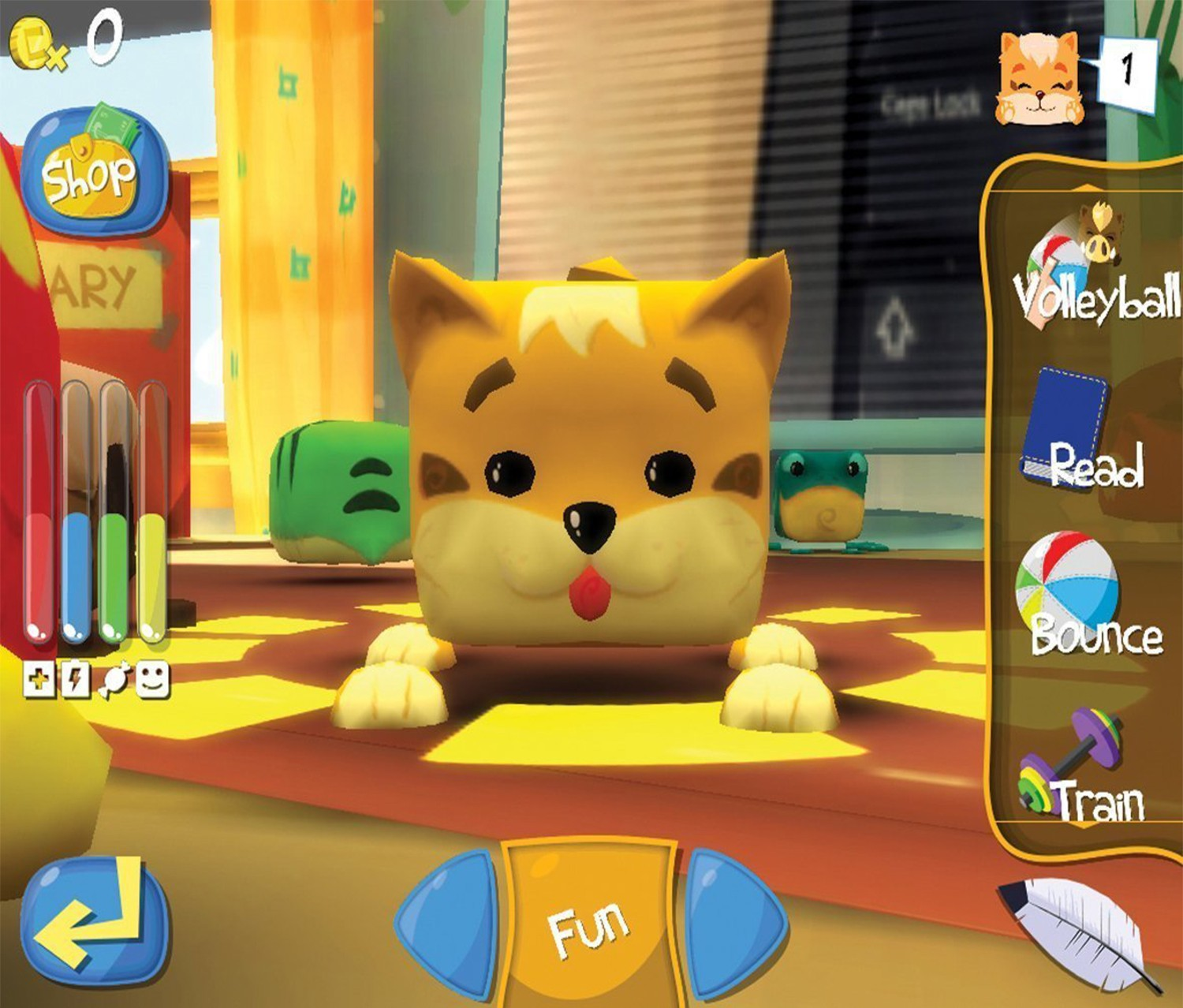 The Cupets Toy Works With The Cupets App, Yellow