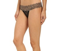 b.tempt'd Lace Kiss Thong, Night Animal Accent