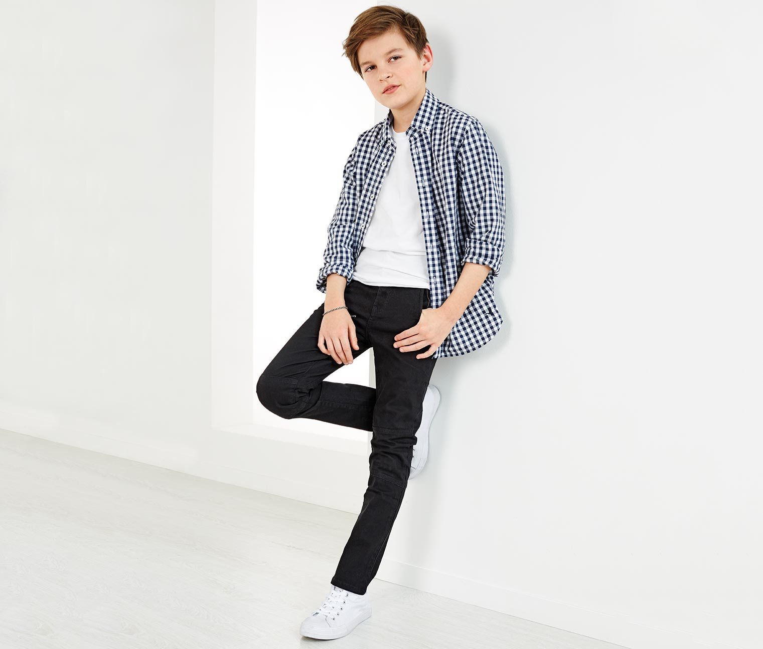 Boys Trousers, Black