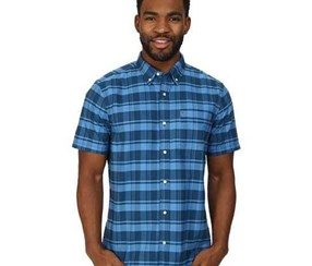 Hurley Men's Shirt Ace The Plaid, Blue