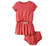 Ralph Lauren Baby Girls Rompers, Red