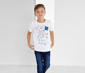 Boys T-Shirt, White