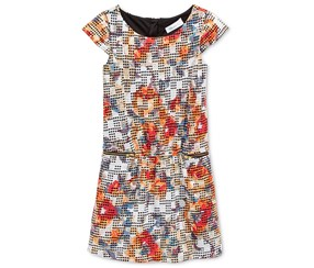Bonnie Jean  Shift Dress, Multi Color