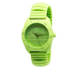 RBX Active Analog Silicone Stretch Watch, Neon Green