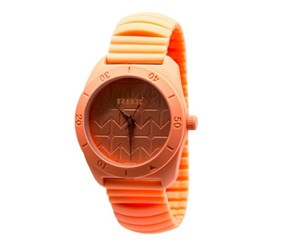 RBX Active Analog Silicone Stretch Watch, Orange