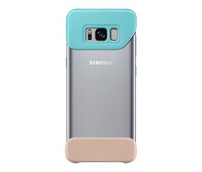 Samsung Galaxy S 8, 2 Piece Cover, Mint/Brown Back